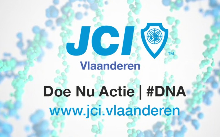 JCI Vlaanderen DNA website